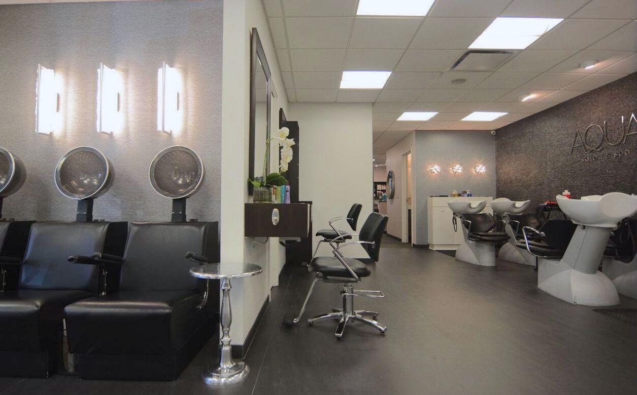 Welcome toaqua salon spa for Salon spa